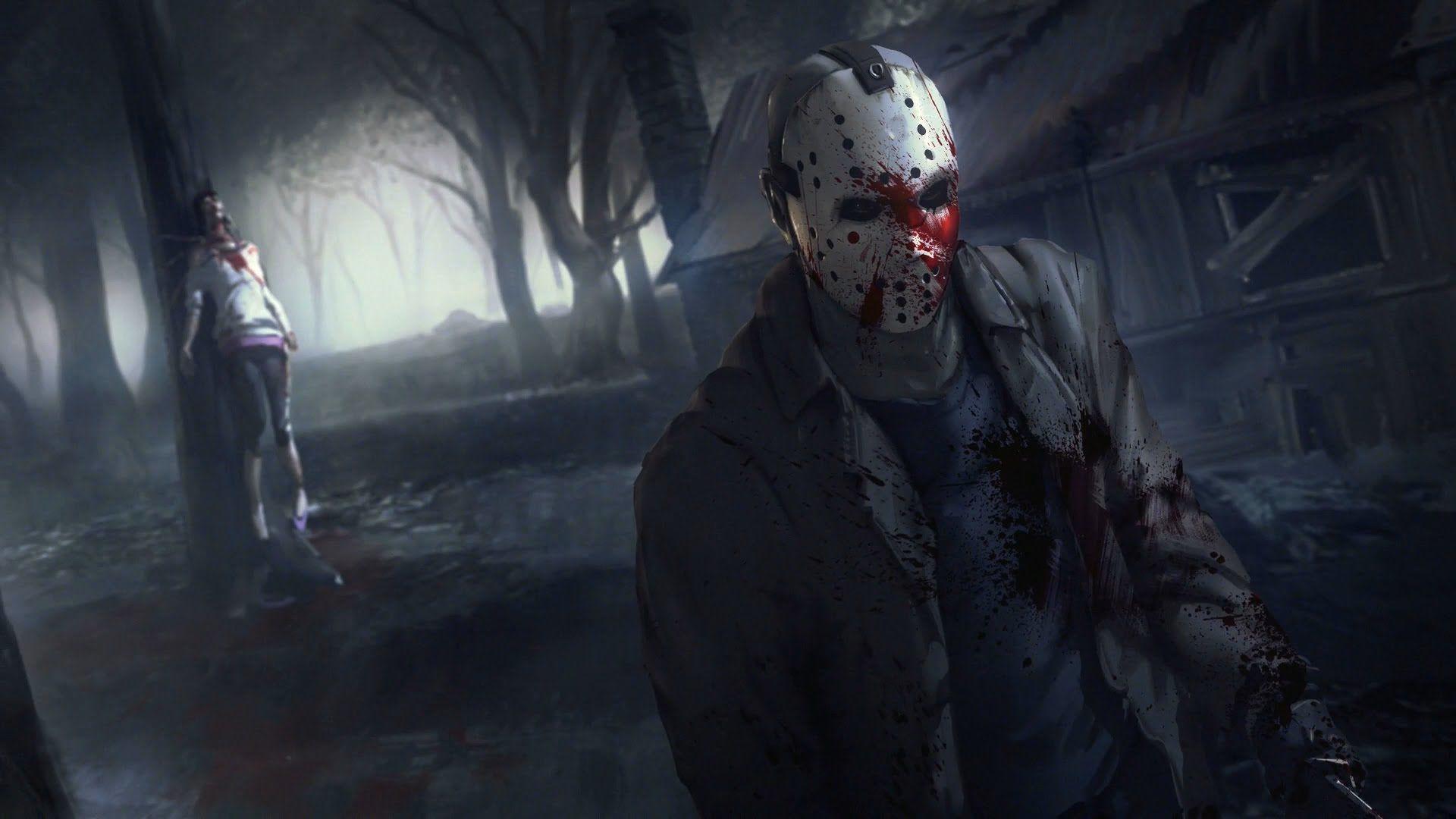 Самые лучшие хоррор игры - Friday the 13th: the Game