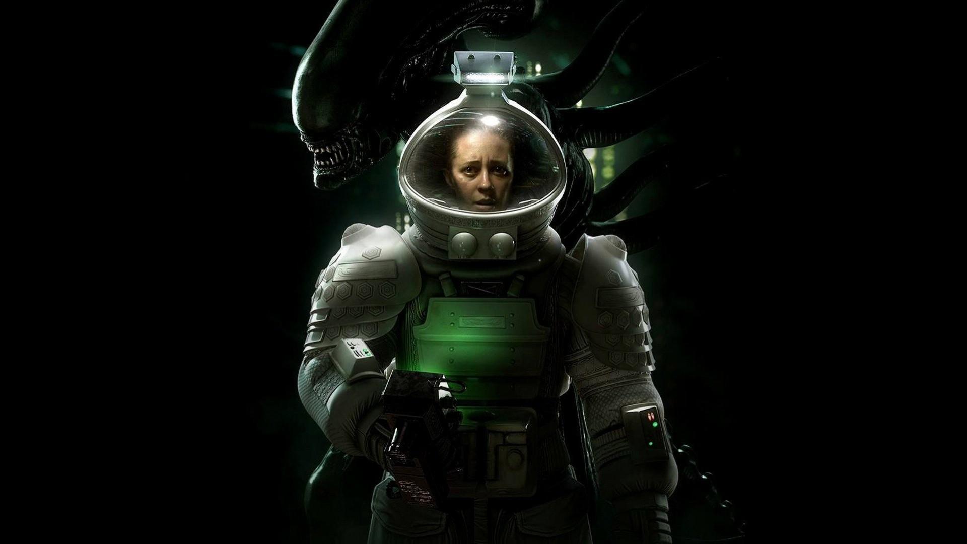 Самые лучшие хоррор игры - Alien: Isolation