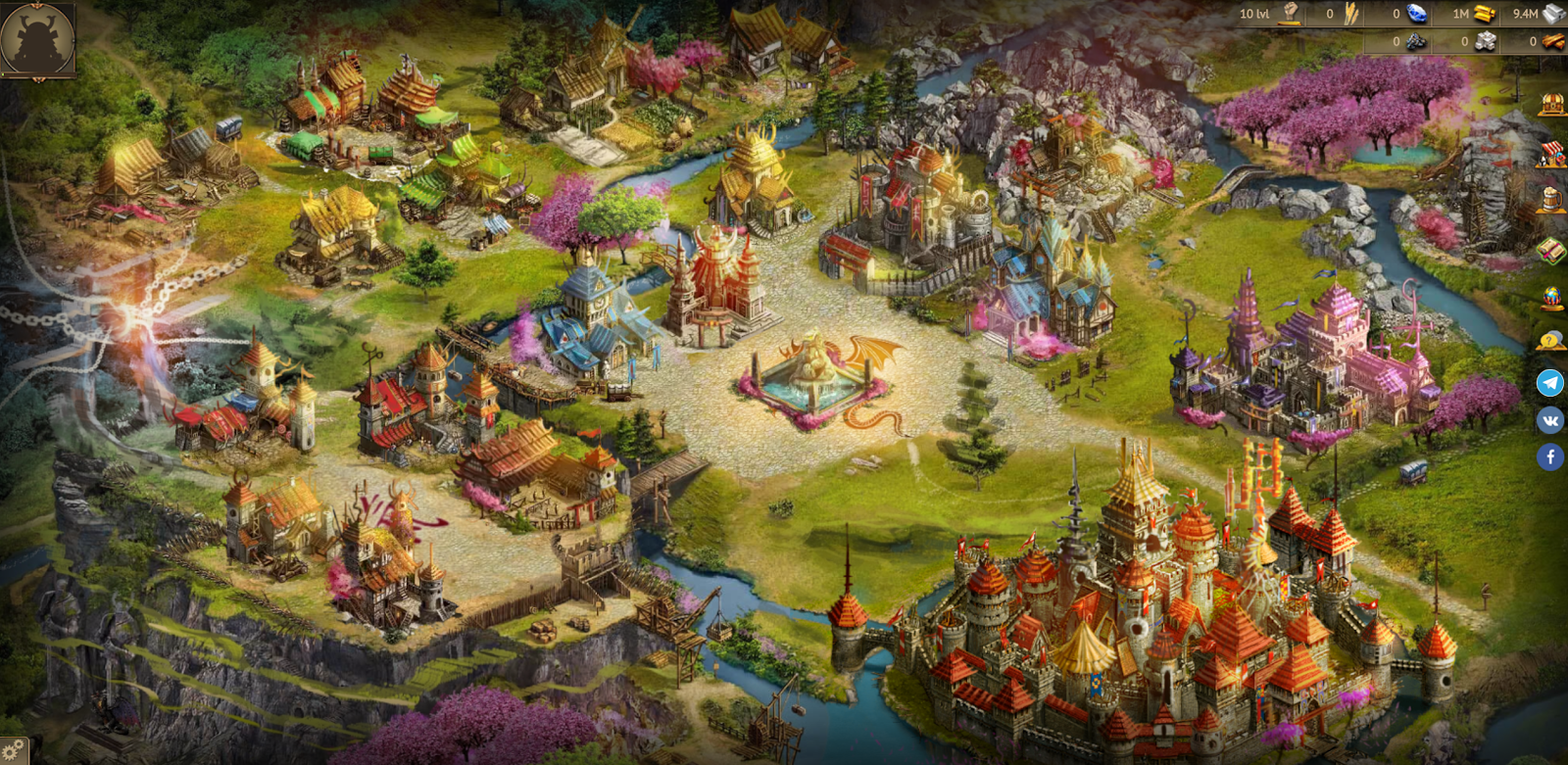Empire of Dragons - обзор игры для заработка